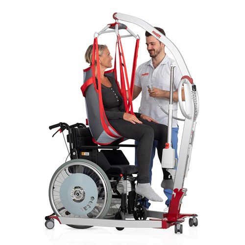 Molift Smart 150 user and carer