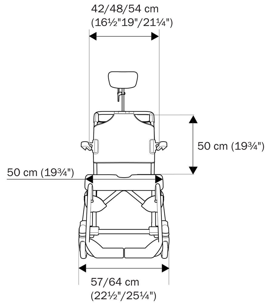 Illustration Etac Swift Mobil Tilt-2 front