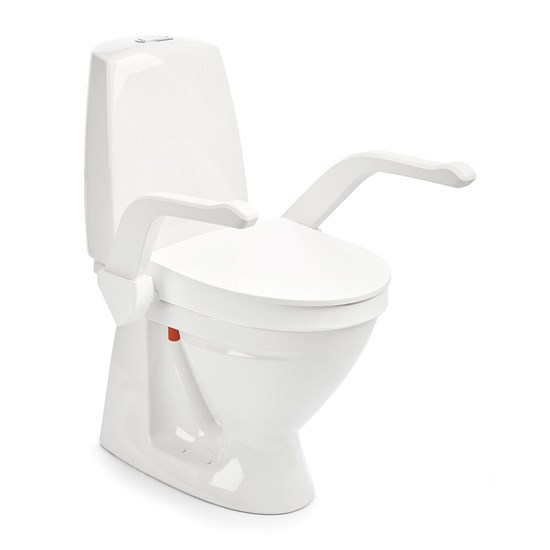 Etac My-Loo fixed 6 cm closed w arm supp