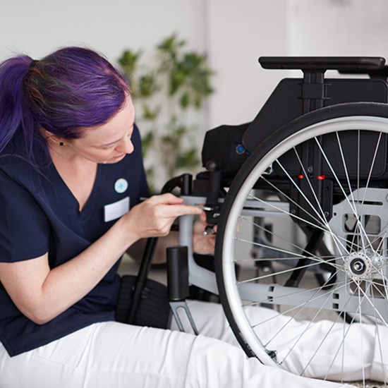 Accessories for manual wheelchairs